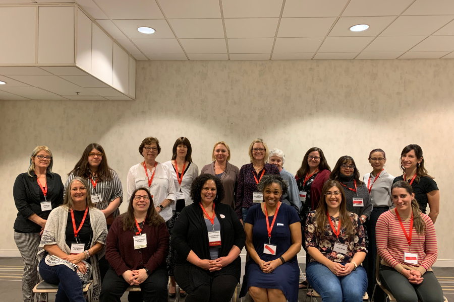 Caucus members at the 2020 Equity Conference.