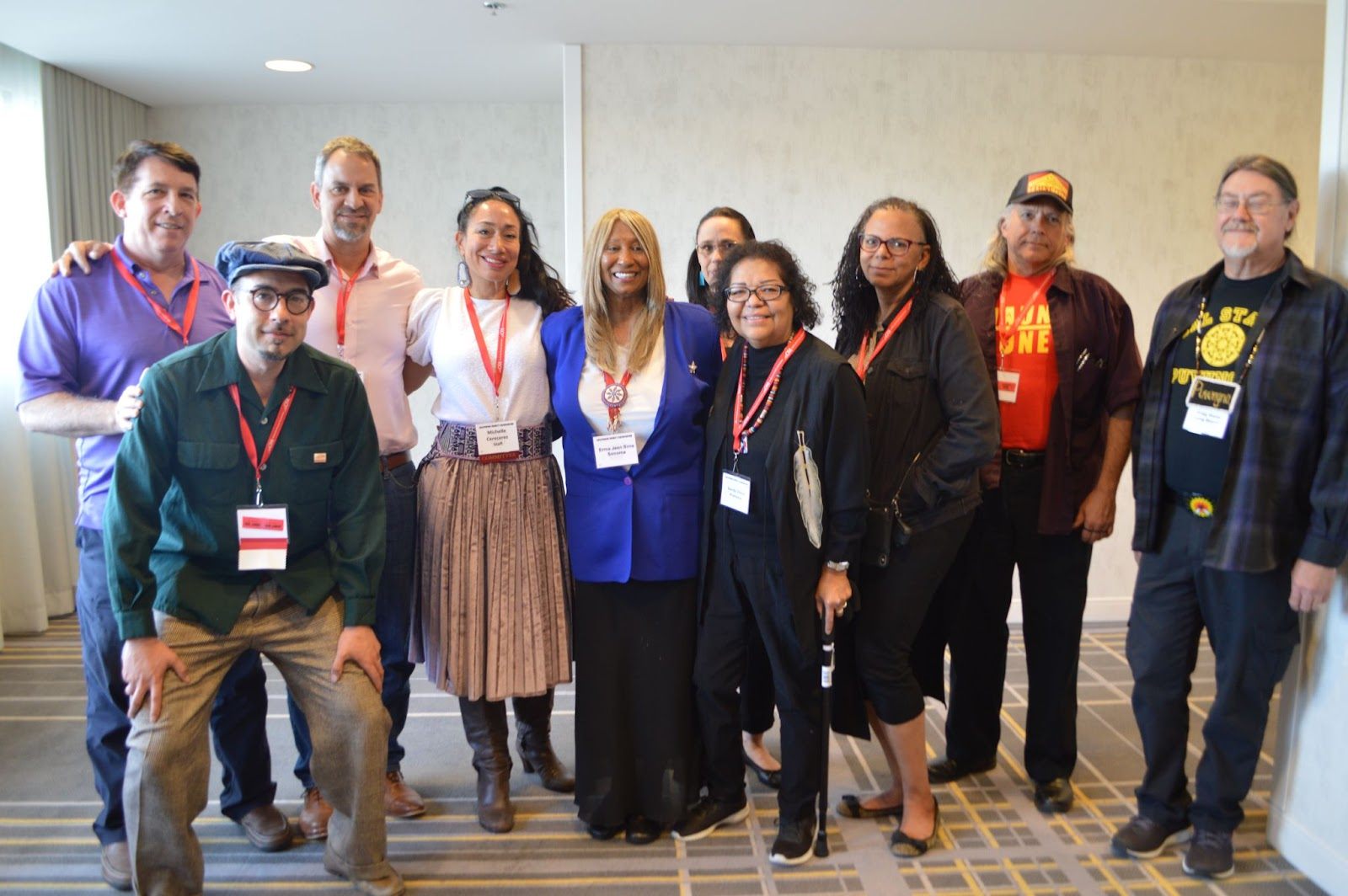 Caucus members at the Equity Conference 2020.