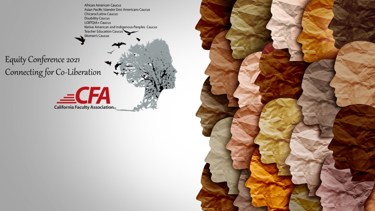 CFA Equity Conference logo with faces.